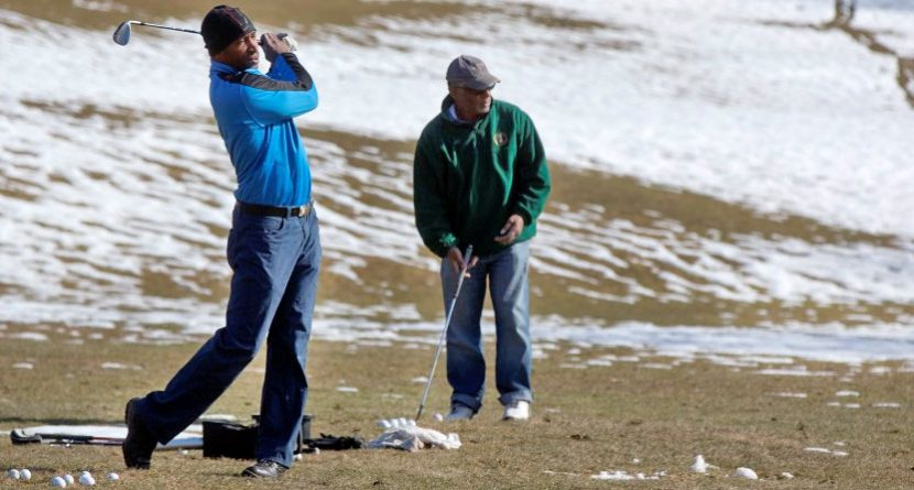 Cold Weather Golf