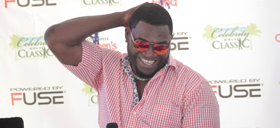 David Ortiz Victim of Exploding Golf Ball Trick