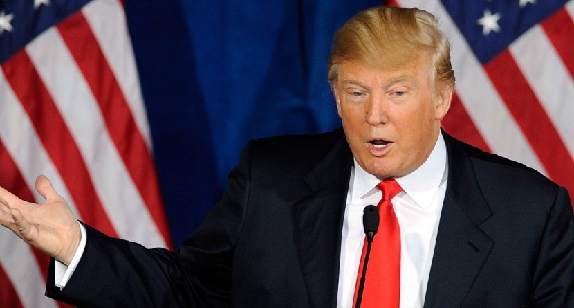 Donald Trump Fights to Keep American Flag at Southland