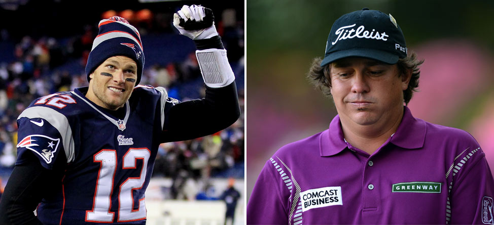 No Respect: Tom Brady, Jason Dufner Can't Get Any Love