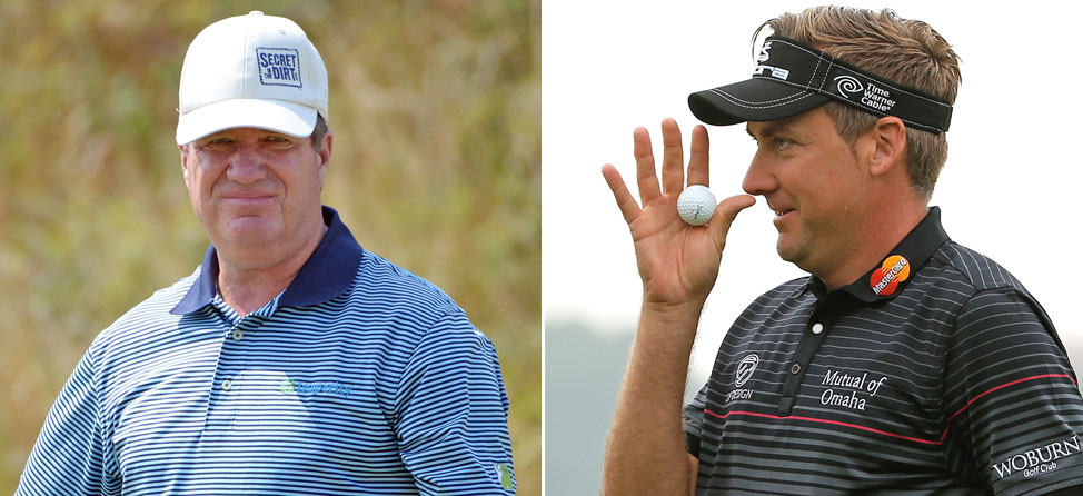 Ian Poulter and Steve Elkington Throw Down on Twitter