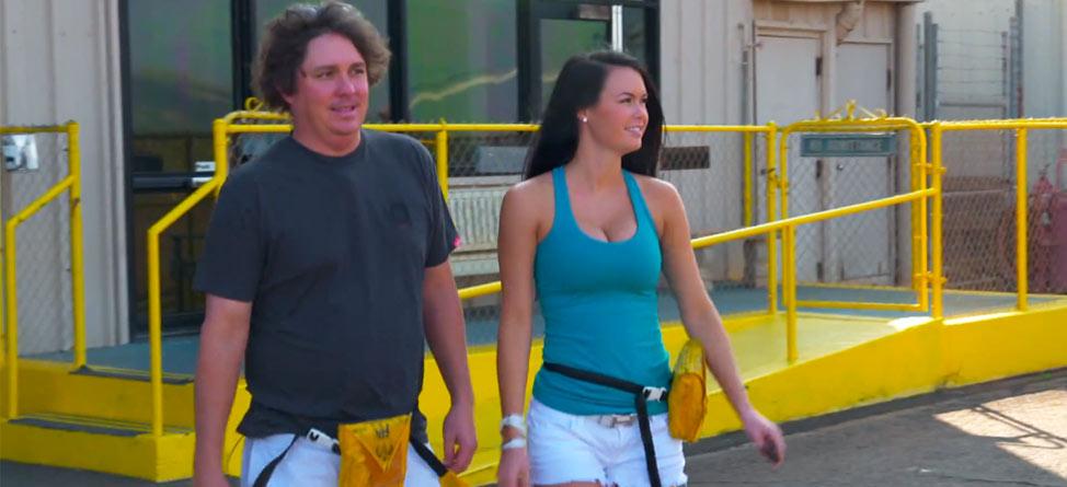 Jason & Amanda Dufner Tour Hawaii Via Land and Air