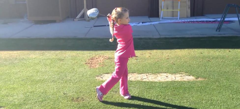 This 5-Year-Old Probably Has a Better Golf Swing Than You