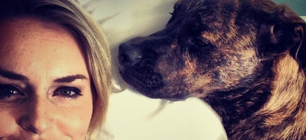 Lindsey Vonn's Dog, Leo, Joins Social Media