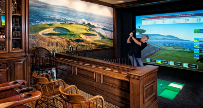 9 Things Your Golfer Man Cave Needs Including One That Costs More Than Car