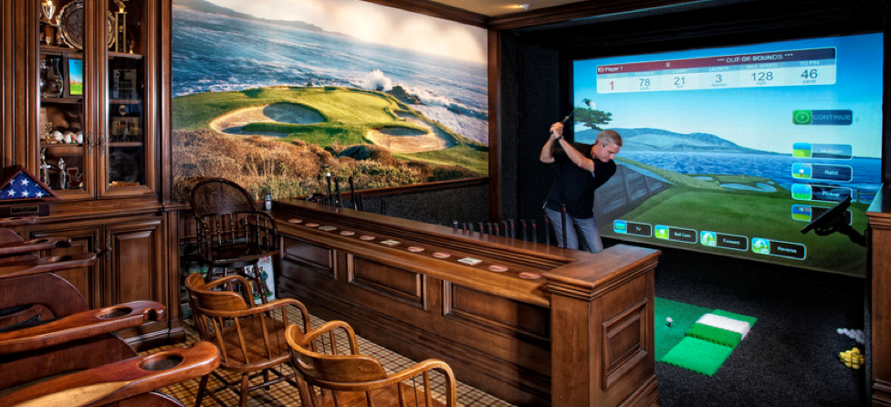 9 Things Your Golfer Man Cave Needs, Including One That Costs More Than Your Car