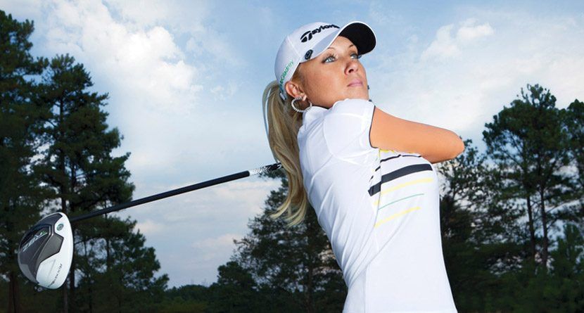Natalie Gulbis, TaylorMade Host Super Bowl Golf Event