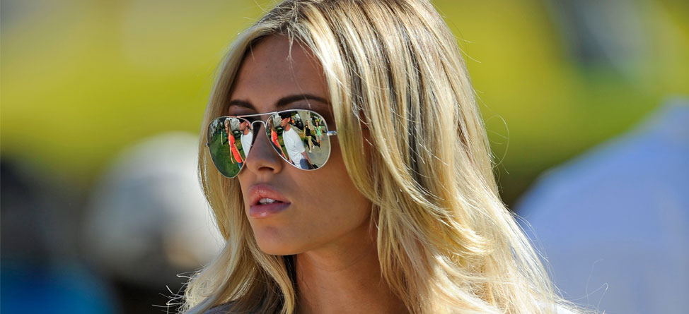 Paulina Gretzky Shoots Commercial with TaylorMade