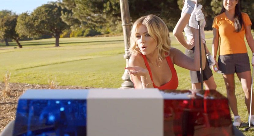 Video: TaylorMade Releases Ad Featuring Paulina Gretzky