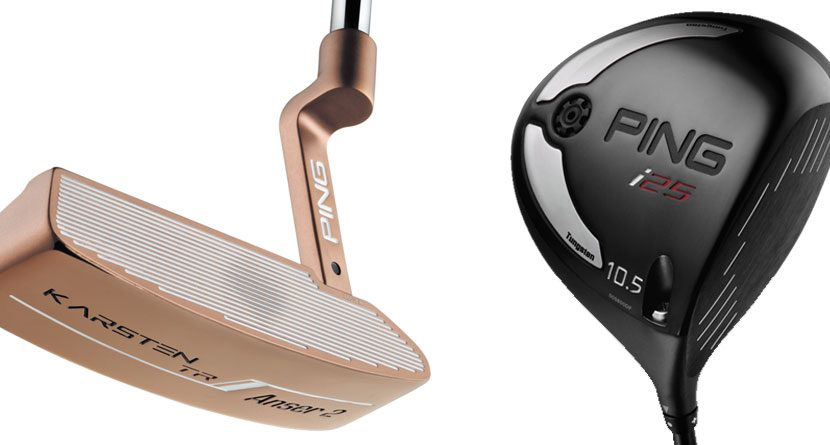 Ping i25 Driver and Karsten Putter