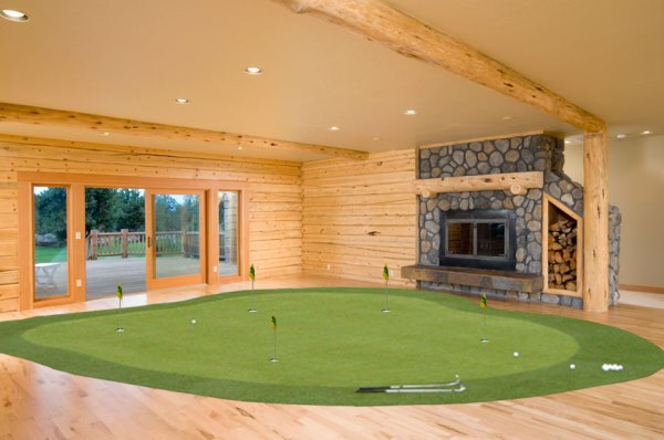 Man Caves For Xbox One : Things your golfer man cave needs including one that