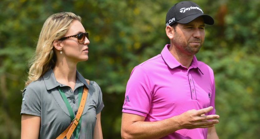 Sergio Garcia 'Fired' By His Girlfriend
