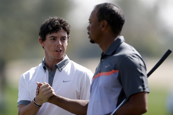 Rory McIlroy Tiger Woods 600