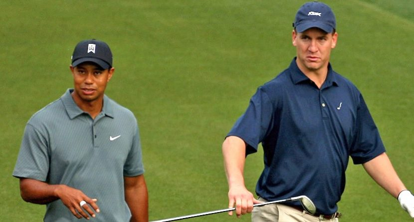 Tiger Woods Likes Peyton Manning, Broncos in Super Bowl