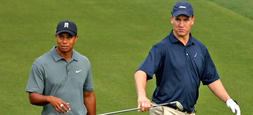 Tiger Woods Likes Peyton Manning, Broncos in Super Bowl