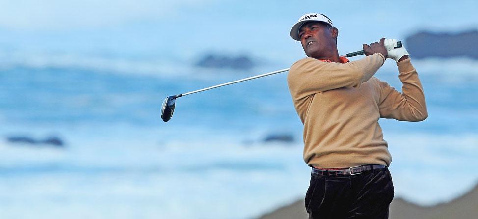 Vijay Singh Signs with Hopkins Golf