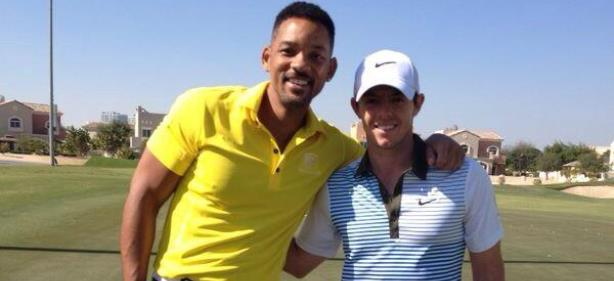 "Rory McIlroy Meets Will Smith, a.k.a. ""Fresh Prince"""