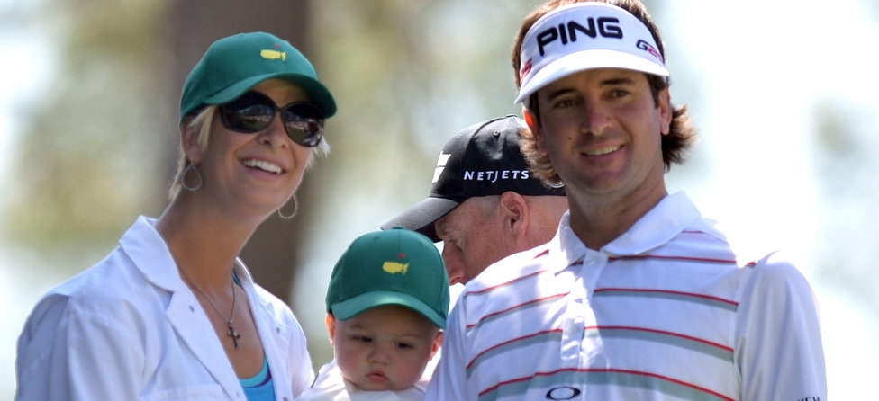 Bubba Watson Nearly Hits Wife with Errant Shot