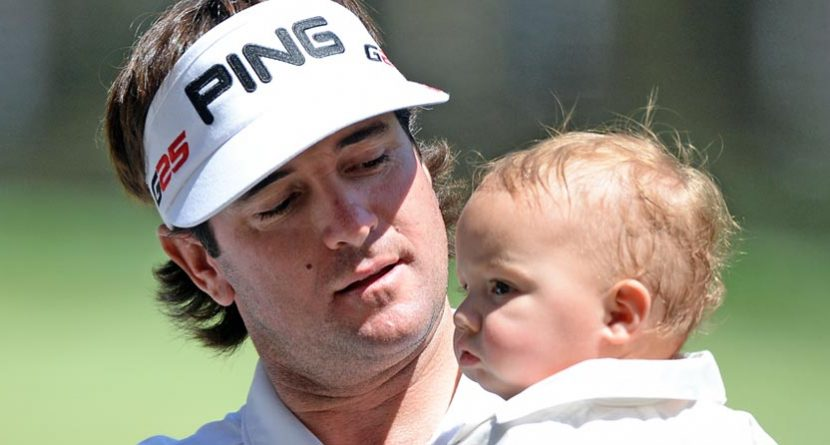 Bubba's Son Caleb Watson Has Quite A Swing