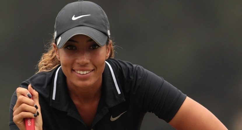 Cheyenne Woods Shoots 65 at Australian Open