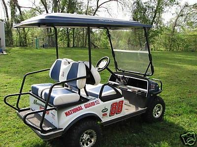 Dale Earnhardt Jr Golf Cart Decals