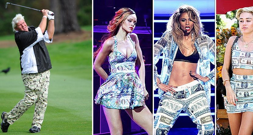Who Wore It Better: John Daly, Miley Cyrus, Rihanna or Ciara?
