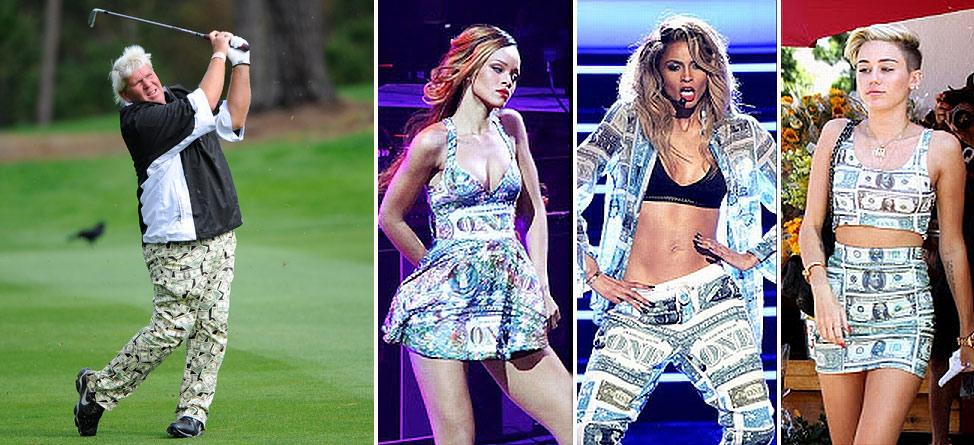 Who Wore It Better: John Daly, Miley Cyrus, Rihanna or Ciara?