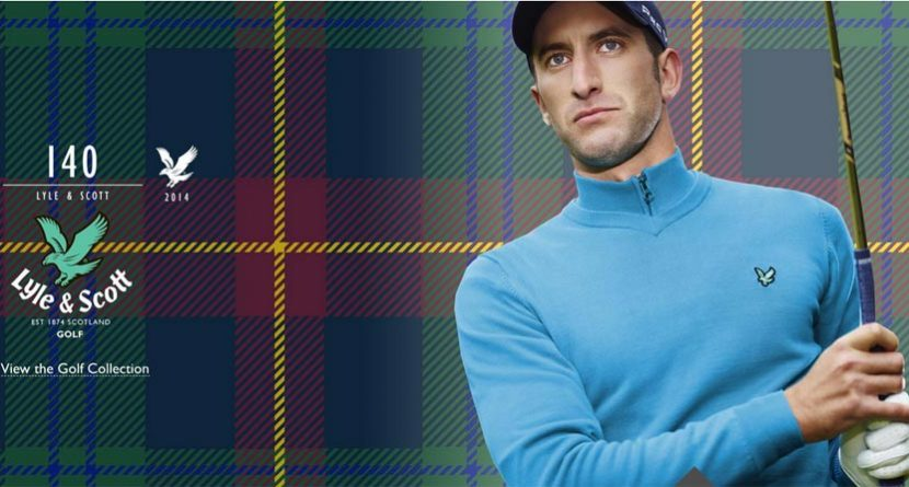 Lyle & Scott and Tony Jacklin to Relaunch Embroidery Service