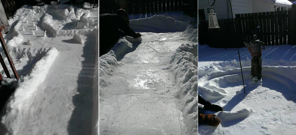 This Mini Golf Course Made Out of Snow is Amazing