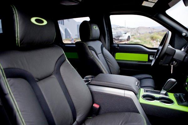 Oakley truck interior 600
