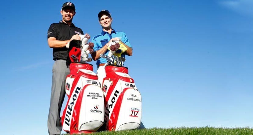 Wilson Golf Staff Players Launch Retro Bags On Tour