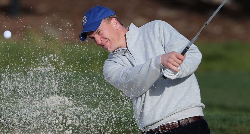 Peyton Manning Joins Celebrity Field at Pebble Beach