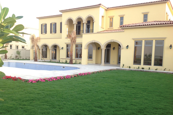 Adam Scott Abu Dhabi home