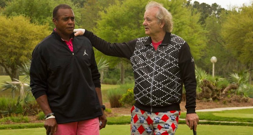 Bill Murray's PBR-Inspired Golf Outfit is Tremendous