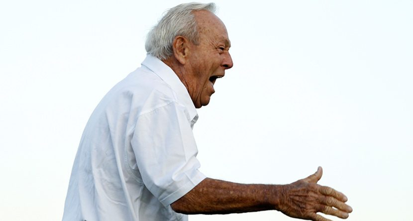 In 24 Hours, Arnold Palmer Rolled Pair of Aces