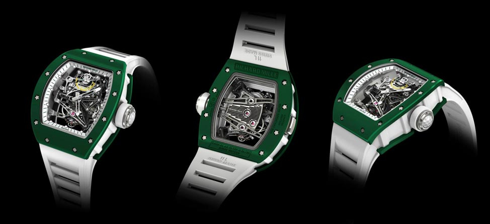 Richard Mille Introduces New Bubba Watson Watch