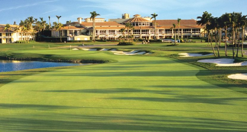 The New Blue Monster at Trump National Doral