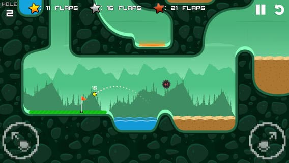 Flappy Golf: Flappy Bird Hits the Links