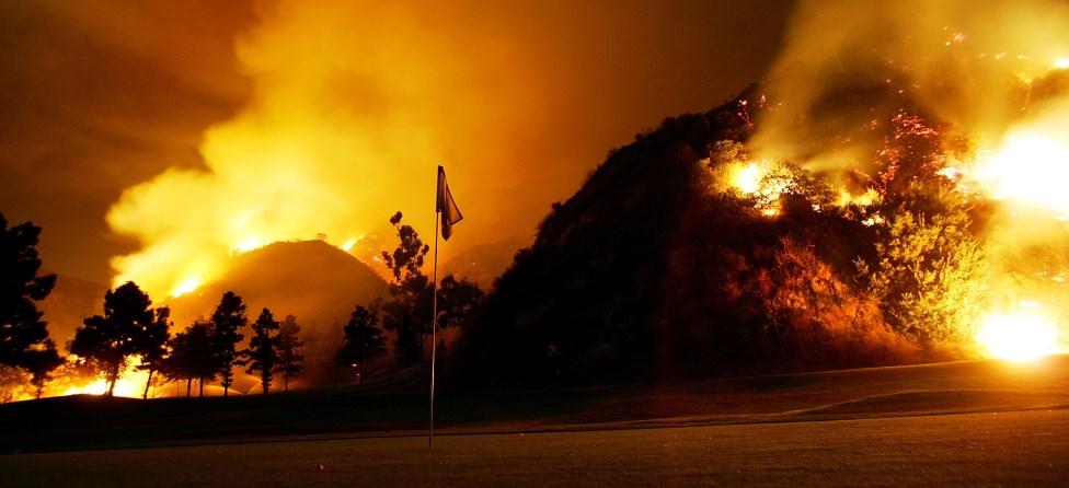 Beware: Titanium Golf Clubs Can Spark Fires