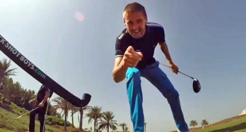 Golf Trick Shot Boys Put on Incredible Show