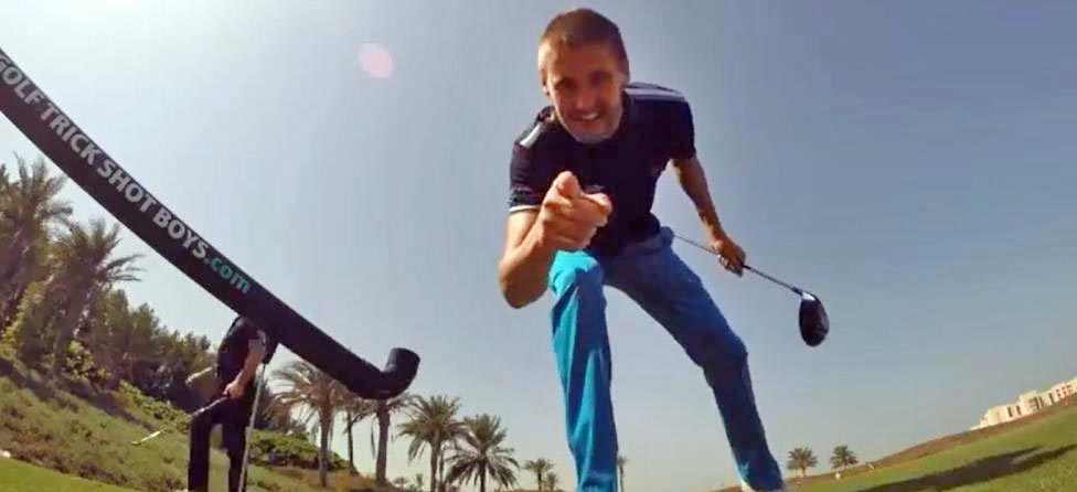 Golf Trick Shot Boys Put on Incredible Show