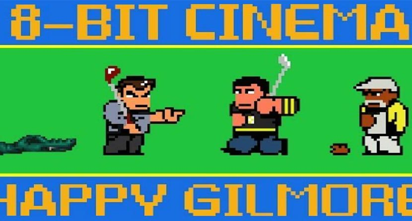 'Happy Gilmore' Reborn As Awesome 80s Video Game