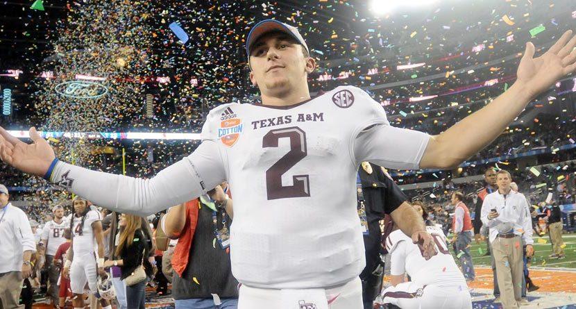 Johnny Football Joins Tiger on Team Nike, Golf Course Next?
