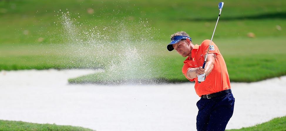 Fan Swipes Luke Donald's Golf Ball