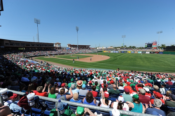 Phillie spring training 600