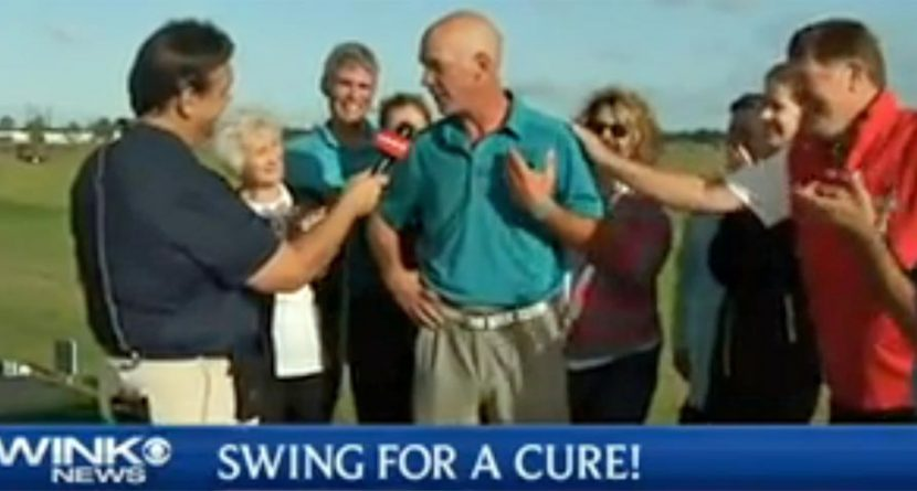 Man Hits Record Number of Balls In Support of Sister