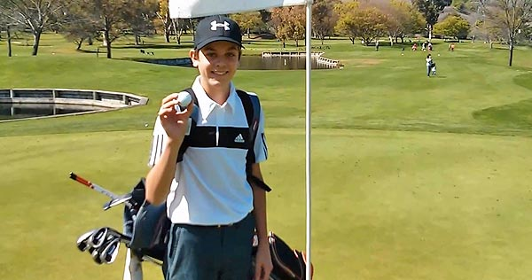 14-Year-Old Makes Back-to-Back Holes-In-One