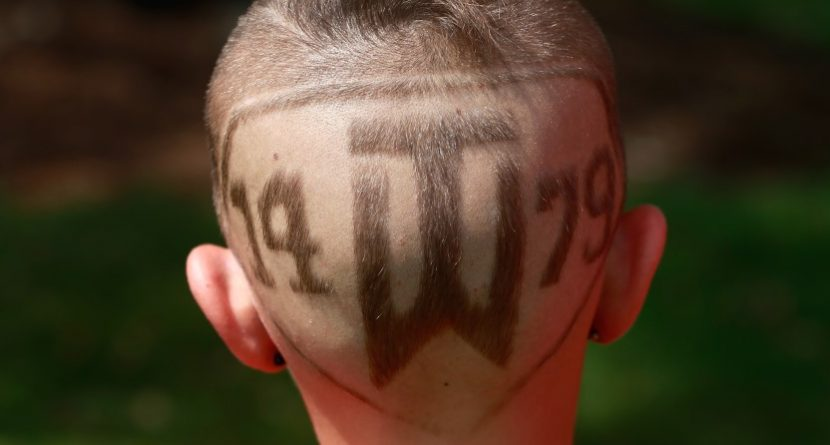 The Back of This Kid's Head is Ridiculous