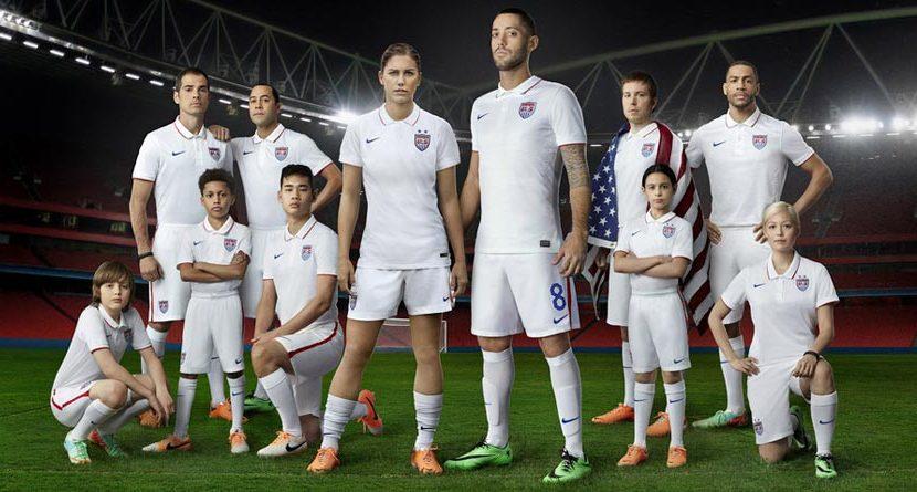 U.S. Soccer Team Unveils Nike Golf Shirt Jerseys