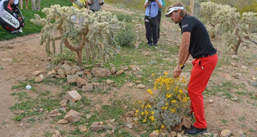 Victor Dubuisson Gets Cactus-Stamped Vokey Wedge